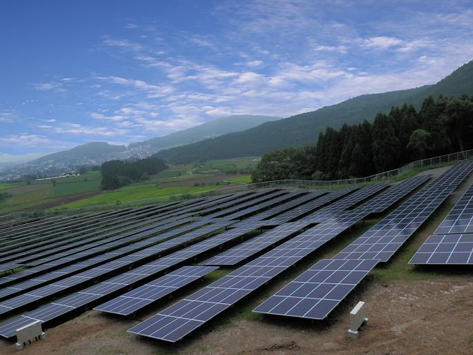 山川小川太陽光発電所